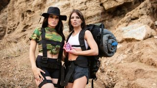 Sapphic Curse Of The Crystal Skull (Adriana Chechik, Kissa Sins) [GirlsWay]