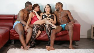 [PornstarPlatinum] Aiko Liezl, Alix Lovell (4 Way Interracial Surprise / 01.19.2020)