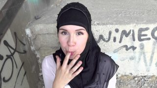 [SexWithMuslims] Izzy Dark (Outdoor quickie with muslim wife / 07.23.2021)